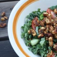 Salade de kale pour homme